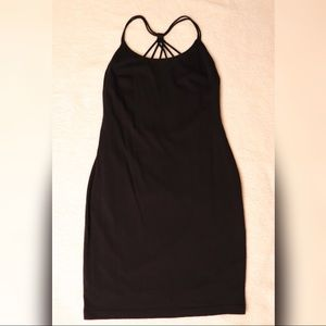 Dainty Hooligan Little Black Strappy Dress